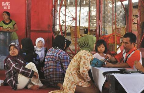 Pengobatan gratis Minang Society - Rumah Zakat