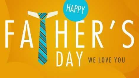 happy-fathers-day-we-love-you-nice-background-yellow-orange-tie-and-awesome-graphism-happy-fathers-day-2014-quotes-sms-messages-and-more
