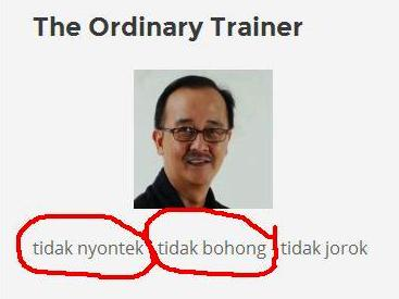 The Ordinary Trainer