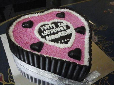 kue spesial dari istri :)